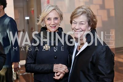 Jill Udall, Elizabeth Lodal. Photo by Tony Powell. 2016 NSO Gala. Kennedy Center. September 25, 2016