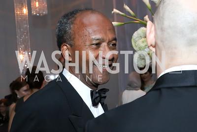Frank Raines. Photo by Tony Powell. 2016 NSO Gala. Kennedy Center. September 25, 2016