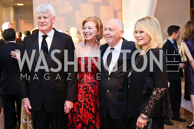 John Kerby, Terry Thompson, Rick and  Jerri Crawford. Photo by Tony Powell. 2016 NSO Gala. Kennedy Center. September 25, 2016