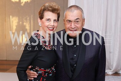 Adrienne Arsht, Tony Podesta. Photo by Tony Powell. 2016 NSO Gala. Kennedy Center. September 25, 2016