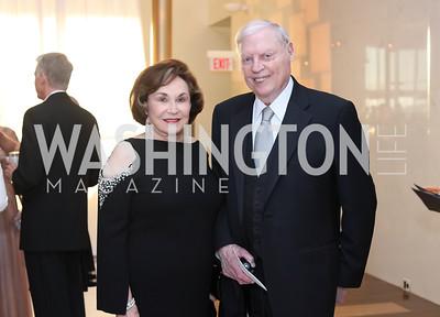 Alma and Joe Gildenhorn. Photo by Tony Powell. 2016 NSO Gala. Kennedy Center. September 25, 2016