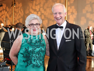 Cherrie Doggett, Jack Evans. Photo by Tony Powell. 2016 NSO Gala. Kennedy Center. September 25, 2016