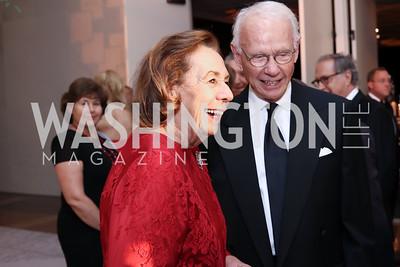 Ann Jordan, Roger Sant. Photo by Tony Powell. 2016 NSO Gala. Kennedy Center. September 25, 2016
