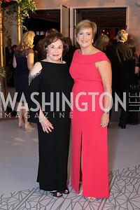 Alma Gildenhorn, Deborah Rutter. Photo by Tony Powell. 2016 NSO Gala. Kennedy Center. September 25, 2016