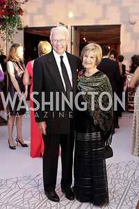 Roger and Vicki Sant. Photo by Tony Powell. 2016 NSO Gala. Kennedy Center. September 25, 2016