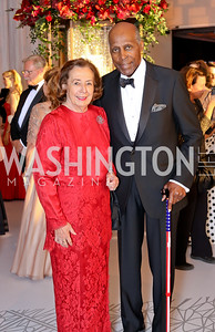 Ann and Vernon Jordan. Photo by Tony Powell. 2016 NSO Gala. Kennedy Center. September 25, 2016