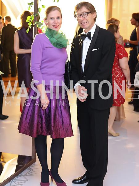 Huberta Wittig and Germany Amb. Peter Wittig. Photo by Tony Powell. 2016 NSO Gala. Kennedy Center. September 25, 2016