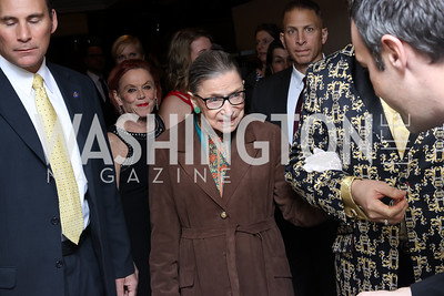 Justice Ruth Bader Ginsburg. Photo by Tony Powell. 2016 National Dialogue Awards. Press Club. November 17, 2016