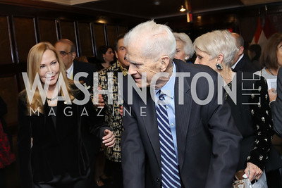 Librarian of Congress Emeritus James Billington. Photo by Tony Powell. 2016 National Dialogue Awards. Press Club. November 17, 2016
