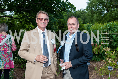 Jerry Slominski, Phil Karsting. Photo by Tony Powell. 2016 National Arboretum Dinner. June 13, 2016