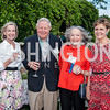 Matthild Schneider, Jim Morton, Carolyn Cheney, Beverly Ward. Photo by Tony Powell. 2016 National Arboretum Dinner. June 13, 2016