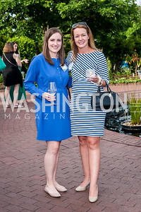 Haley Graves, Jen Daulby. Photo by Tony Powell. 2016 National Arboretum Dinner. June 13, 2016