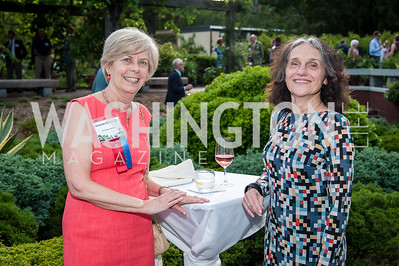 Jeanne Connelly, Pam Talkin. Photo by Tony Powell. 2016 National Arboretum Dinner. June 13, 2016