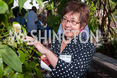 Professor Naomi Fukagawa. Photo by Tony Powell. 2016 National Arboretum Dinner. June 13, 2016