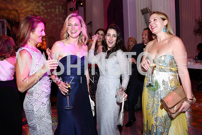 Page Kral, Elizabeth Dodson, Joyce Ward, Ryan Triplette. Photo by Tony Powell. 2016 Opera Ball. OAS. May 21, 2016