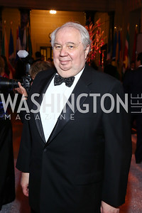 Russia Amb. Sergei Kislyak. Photo by Tony Powell. 2016 Opera Ball. OAS. May 21, 2016