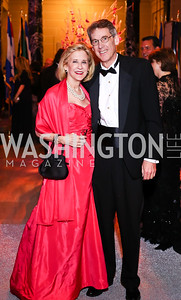 Marcia Mayo, Dr. Bruce Werness. Photo by Tony Powell. 2016 Opera Ball. OAS. May 21, 2016