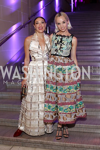 The Dolls' Mia Moretti and Margot. Photo by Tony Powell. 2016 Opera Ball. OAS. May 21, 2016