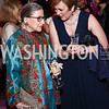 Justice Ruth Bader Ginsburg, Deborah Rutter. Photo by Tony Powell. 2016 Opera Ball. OAS. May 21, 2016