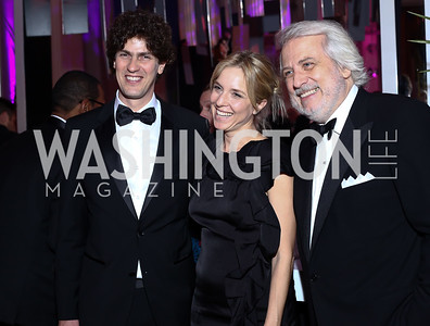 Martin Lousteau and Carla Peterson, Maestro Philippe Auguin. Photo by Tony Powell. 2016 Opera Ball. OAS. May 21, 2016