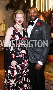 Opera Singers Catherine Martin and Norman Garrett. Photo by Tony Powell. 2016 Opera Ball. OAS. May 21, 2016