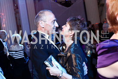 Thomas Krähenbühl and Dorothy Kosinski. Photo by Tony Powell. 2016 Opera Ball. OAS. May 21, 2016