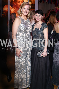Anne Kline, Claudia Cotca. Photo by Tony Powell. 2016 Opera Ball. OAS. May 21, 2016