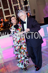 Aniko Gaal Schott and Nash Schott. Photo by Tony Powell. 2016 Opera Ball. OAS. May 21, 2016