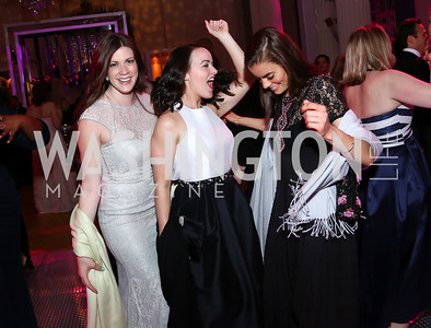 Celeste Somera, Courtney Pence, Casey Ryan. Photo by Tony Powell. 2016 Opera Ball. OAS. May 21, 2016