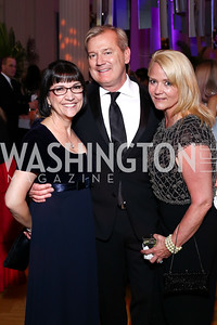 Marie Mattson, Mark McFadden, Lyn McFadden. Photo by Tony Powell. 2016 Opera Ball. OAS. May 21, 2016