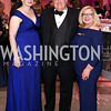 Karen and Kent Knutson, Gloria Dittus. Photo by Tony Powell. 2016 Opera Ball. OAS. May 21, 2016