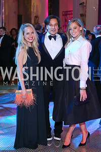 Meaghan Smith, David Tafuri, Becca Thorsen. Photo by Tony Powell. 2016 Opera Ball. OAS. May 21, 2016