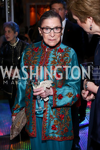 Justice Ruth Bader Ginsburg. Photo by Tony Powell. 2016 Opera Ball. OAS. May 21, 2016