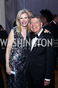 Opera Ball Co-Chair Jane Cafritz and Calvin Cafritz. Photo by Tony Powell. 2016 Opera Ball. OAS. May 21, 2016