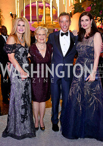 Imam Yacoub, Jo Cooper, Peter Baca, Beatriz Sevilla. Photo by Tony Powell. 2016 Opera Ball. OAS. May 21, 2016