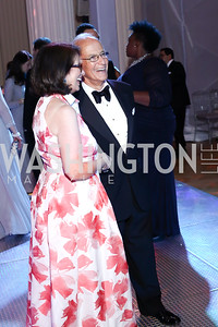 Jamie and Bob Craft. Photo by Tony Powell. 2016 Opera Ball. OAS. May 21, 2016