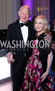Michael and Susan Pillsbury. Photo by Tony Powell. 2016 Opera Ball. OAS. May 21, 2016