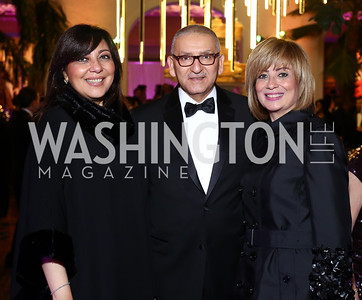 Nado El Shimy, Egypt Amb. Yasser Reda and Nahla Reda. Photo by Tony Powell. 2016 Opera Ball. OAS. May 21, 2016