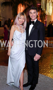 Angie Kang, Colin Shah. Photo by Tony Powell. 2016 Opera Ball. OAS. May 21, 2016