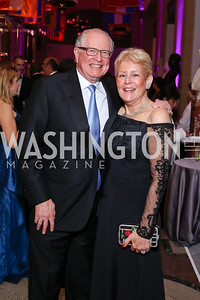 Harold and Nancy Zirkin. Photo by Tony Powell. 2016 Opera Ball. OAS. May 21, 2016