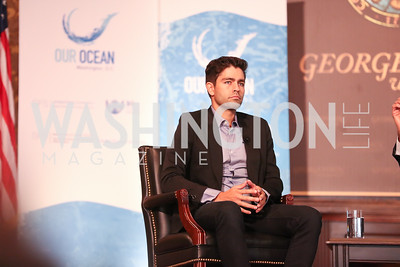 Adrian Grenier. Photo by Tony Powell. 2016 Our Ocean Conference. GU. September 16, 2016