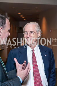 George Vradenburg. Photo by Tony Powell. 2016 Out of the Shadows Dinner. Reagan Building. September 28, 2016