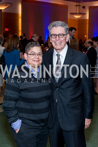 Daisy Duarte, William Vega. Photo by Tony Powell. 2016 Out of the Shadows Dinner. Reagan Building. September 28, 2016
