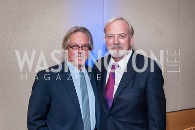 Greg O'Brien, James Keach. Photo by Tony Powell. 2016 Out of the Shadows Dinner. Reagan Building. September 28, 2016