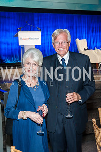 Diane Rehm, John Hagedorn. Photo by Tony Powell. 2016 Out of the Shadows Dinner. Reagan Building. September 28, 2016