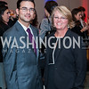 TJ Harvey, Patty Dunn. Photo by Tony Powell. 2016 Out of the Shadows Dinner. Reagan Building. September 28, 2016