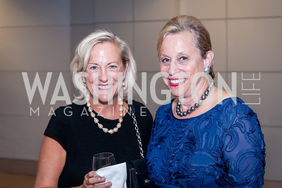 Cathy Sterling, Judith Barnett. Photo by Tony Powell. 2016 Out of the Shadows Dinner. Reagan Building. September 28, 2016
