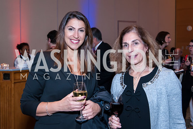 Patrice Crocevera, Suzanne Campbell. Photo by Tony Powell. 2016 Out of the Shadows Dinner. Reagan Building. September 28, 2016