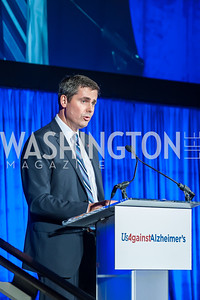 Dave Ricks. Photo by Tony Powell. 2016 Out of the Shadows Dinner. Reagan Building. September 28, 2016