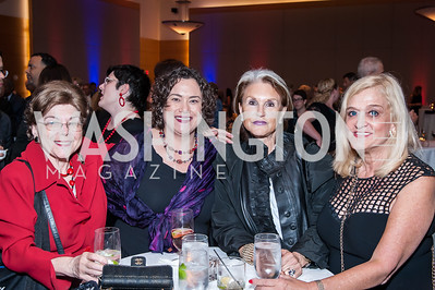 Agatha Aurbach, Michele Oshman, Phyllis Greenberger, Trish Vradenburg. Photo by Tony Powell. 2016 Out of the Shadows Dinner. Reagan Building. September 28, 2016